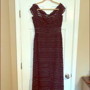 Tadashi Black Evening Gown NWOT